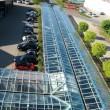 Glasüberdachung Smart-Center Bremen
